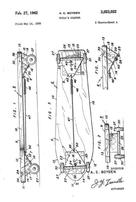 Top 7 Funniest Skateboard Patents - Random